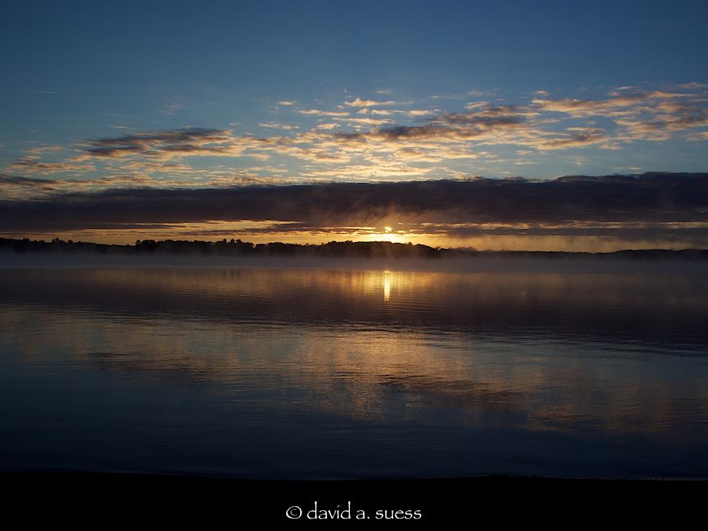 Early September sunrise on Sand Lake