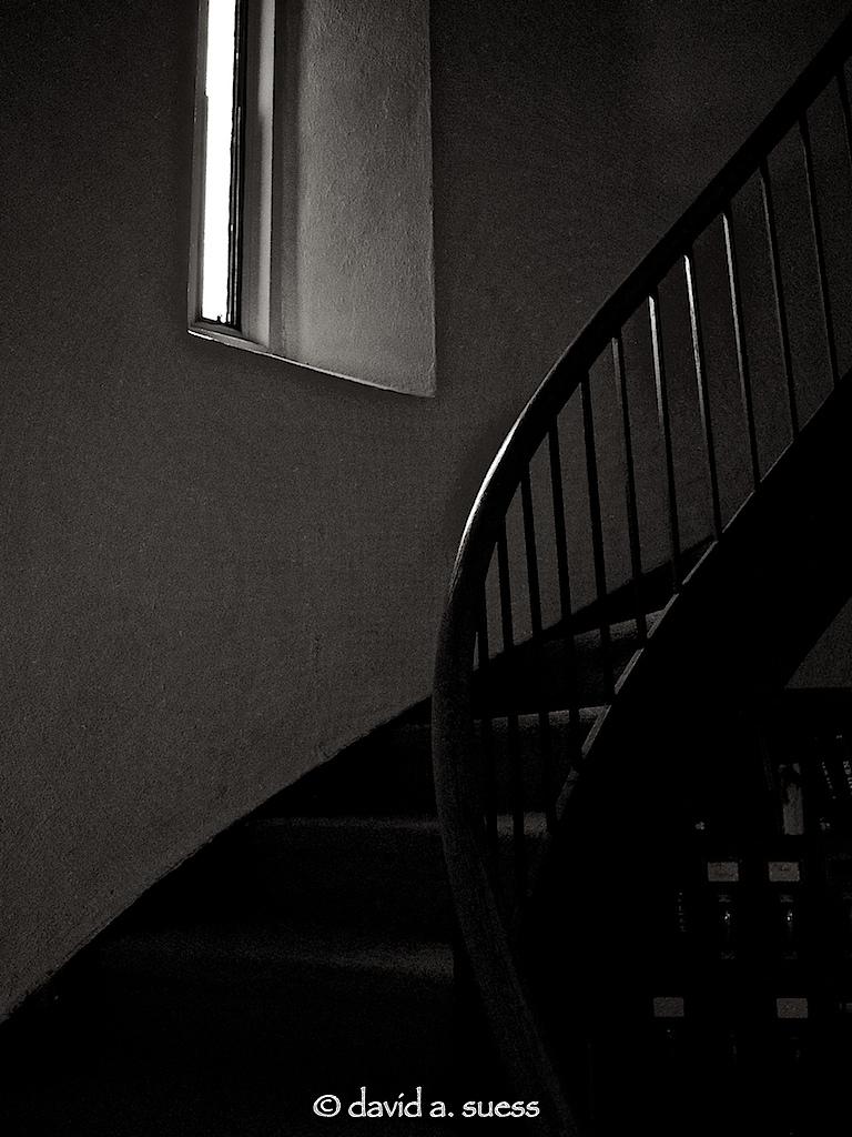 Stairs to the Choir Loft