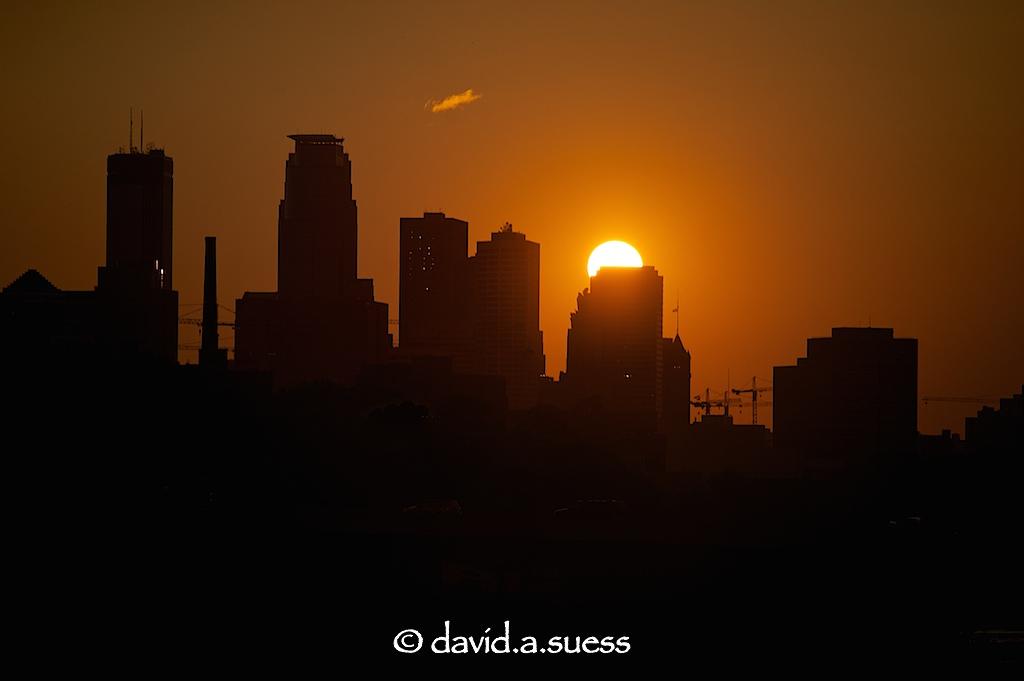 Franklin Avenue Bridge Sunset