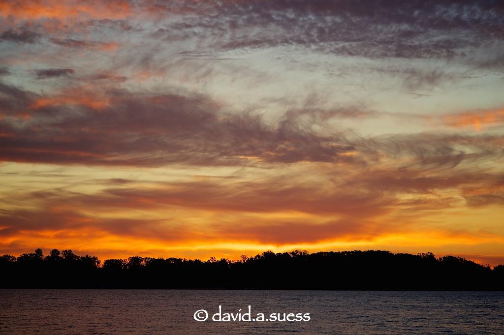 Sunrise on Sand Lake
