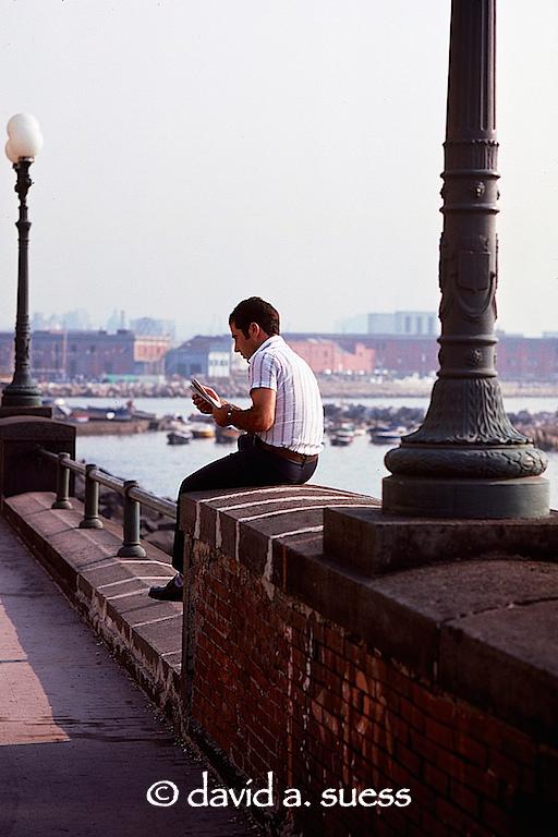 Man Reading Newspaper, Naples