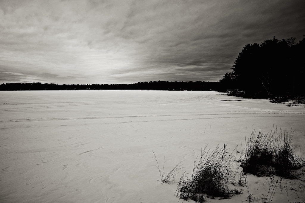 Winter Sky at Sand Lake