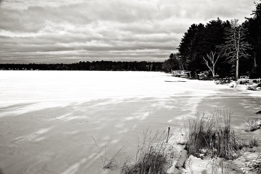 Winter Sky at Sand Lake
