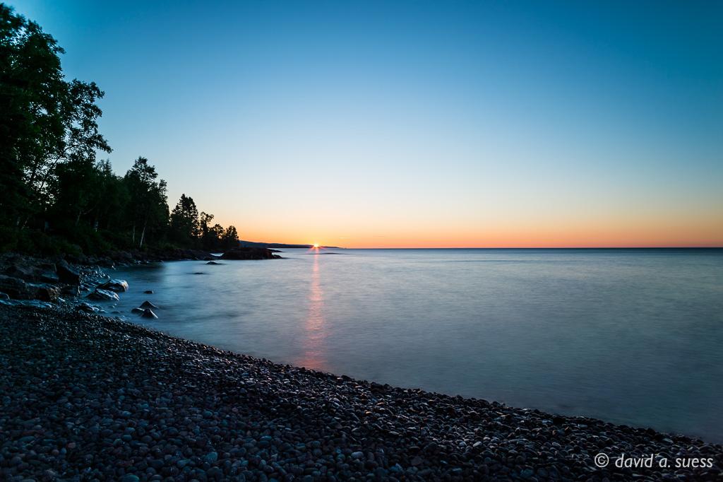 Sunrise, Lake Superior North Shore