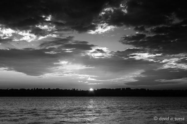 North Sand Lake Sunset