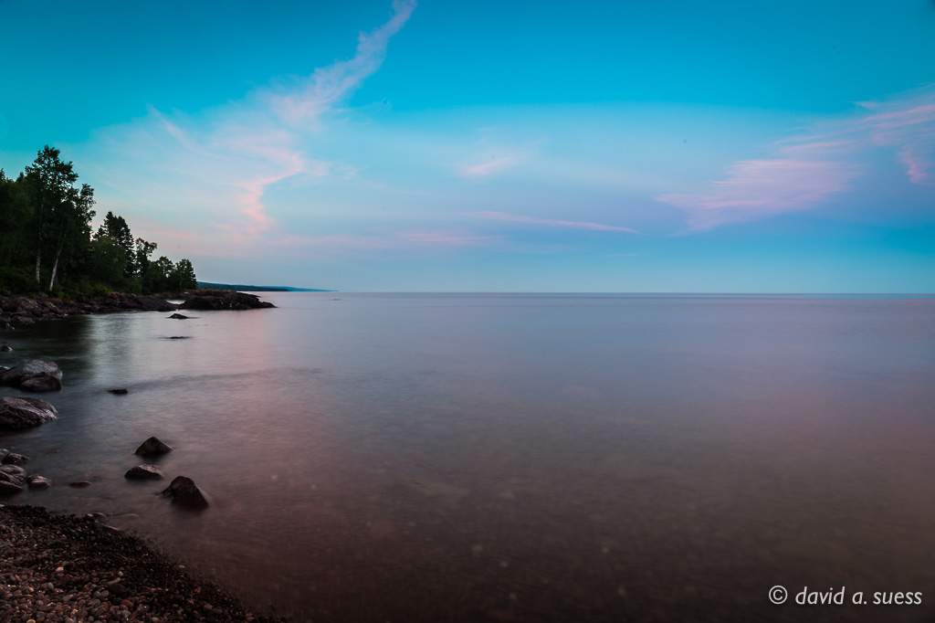 Sunset, Lake Superior North Shore