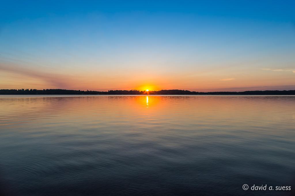 North Sand Lake Sunrise