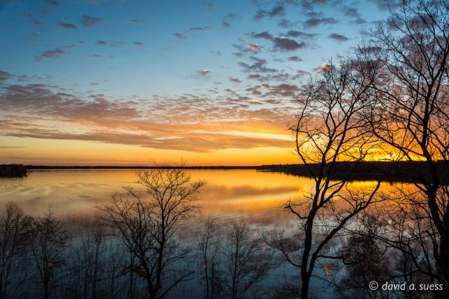 Sunset, Sturgeon Lake