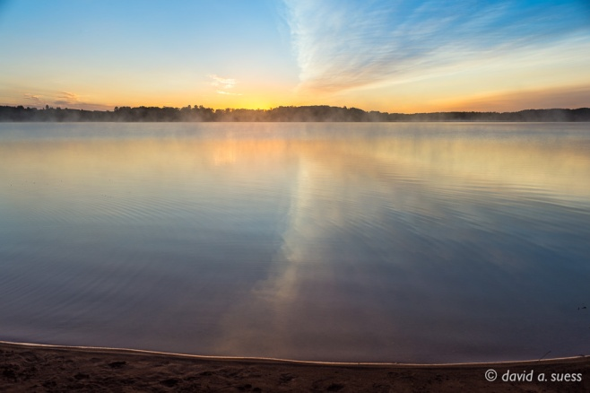 North Sand Lake Sunrise