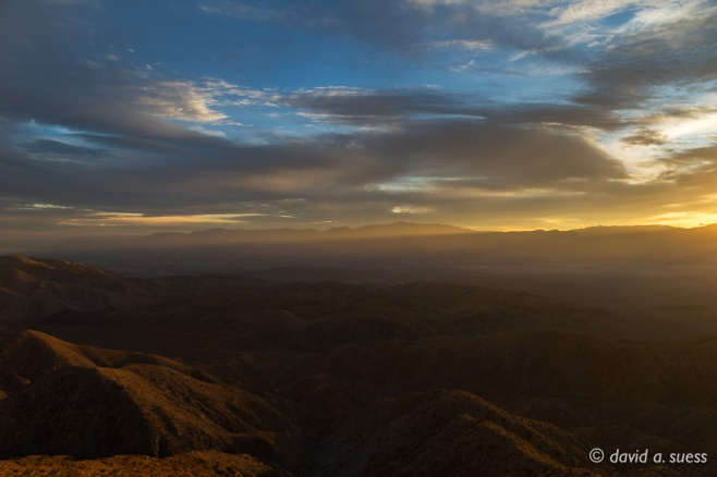 Sunset No 1, Keys View