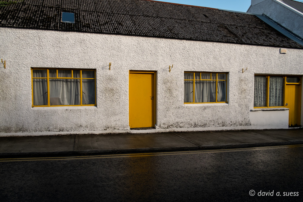 Yellow Door, Lisdoonvarna, County Galway