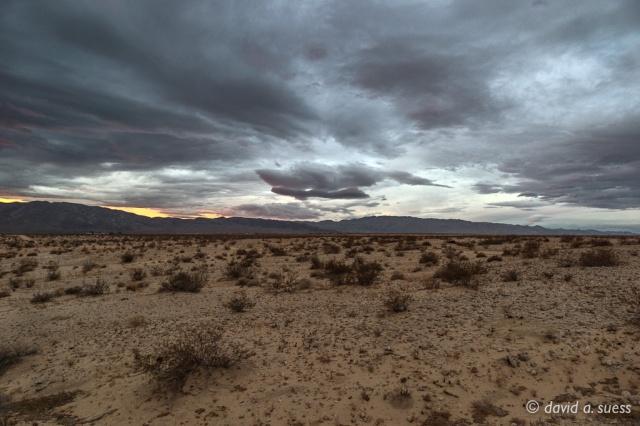Wonder Valley Sunrise