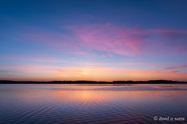 Rippling Waters at Dawn