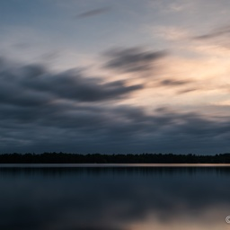 …moody clouds at sunset